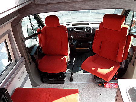 Housse de Siège Gris pour VW t6 Siège-auto Référence à L/'AvAnt uniquement siège du conducteur